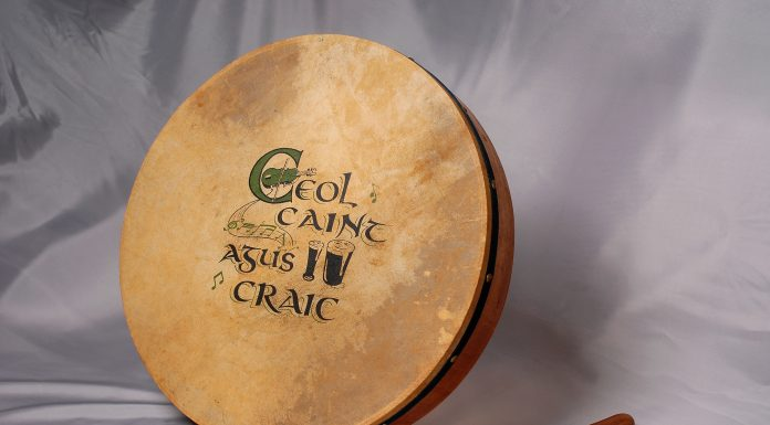 Traditional Irish Drum