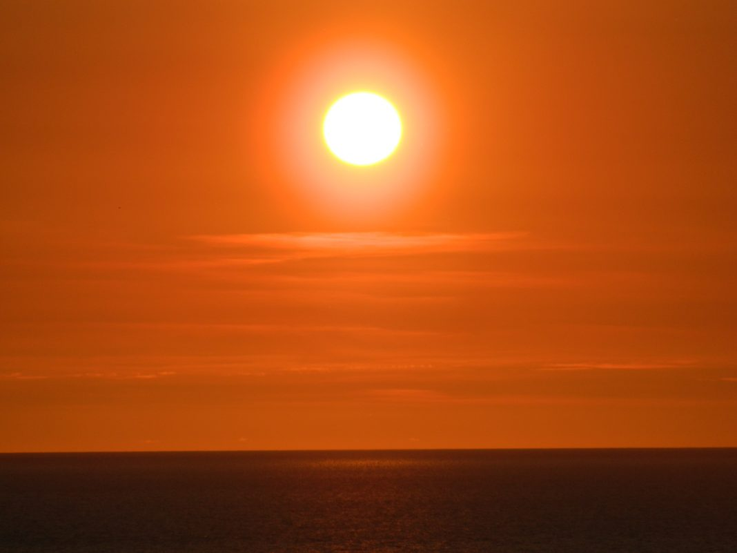 Sunset Clew Bay Mayo Ireland May 2017
